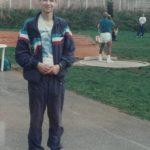 Прага 1995г. В кадре - Шри Чинмой метает ядро