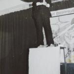 Роль Пушкина в школьном спектакле 1989г.