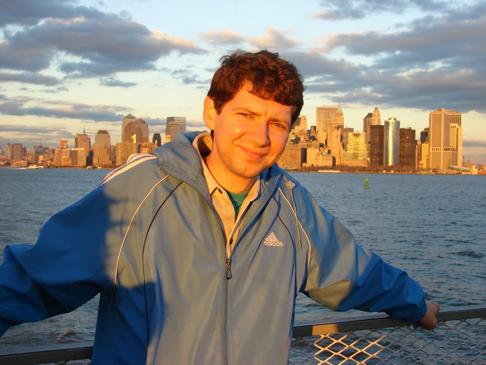 Вид на Манхэттон Нью-Йорк 2006г.
