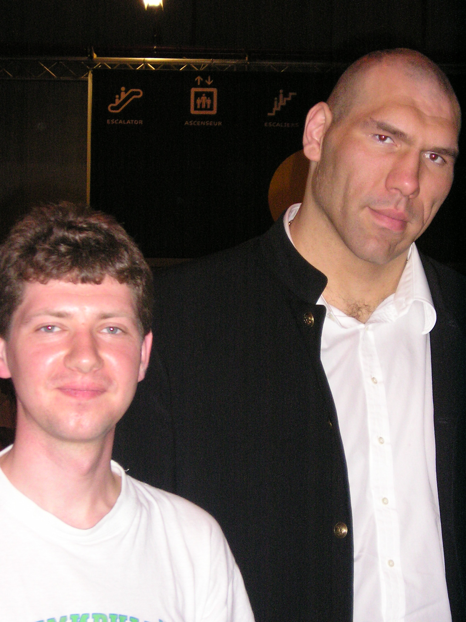 С Николаем Валуевым 2005г.