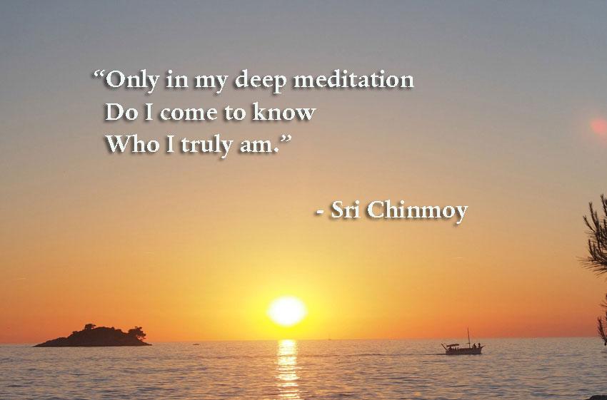 нужна медитация