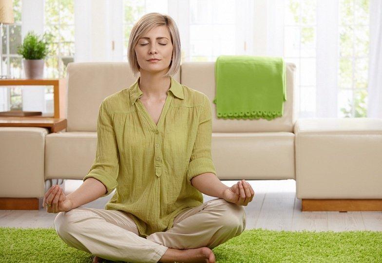 как медитировать дома+