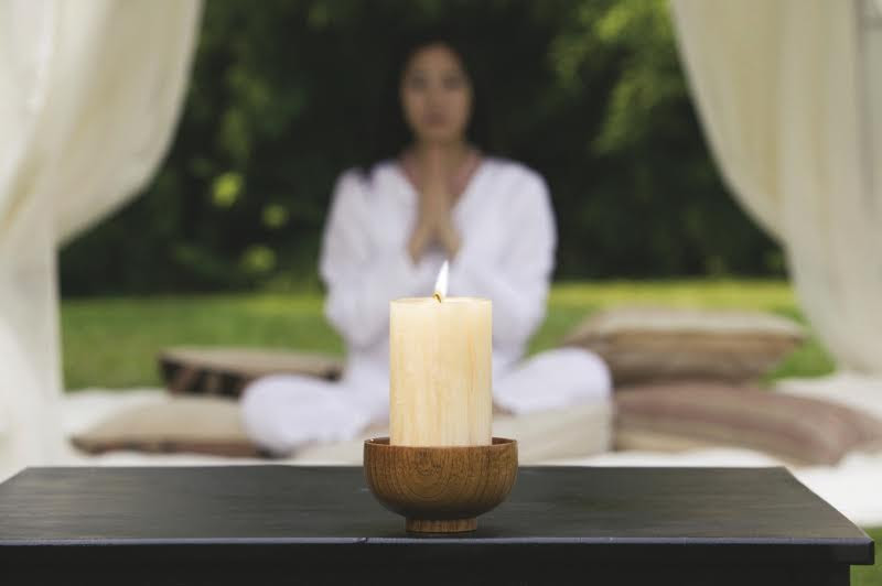 время медитации